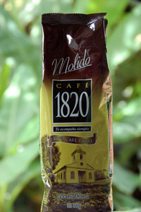 Cafe 1820 Costa Rican Coffee