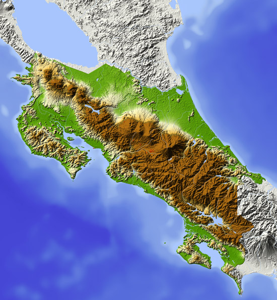 Map Of Costa Rica Where Is Costa Rica Located